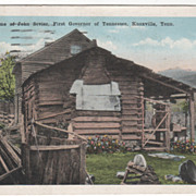 The Home of John Sevier First Governor of Tennessee Knoxville TN Tennessee Vintage Postcard