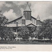 The Auditorium Ocean Grove NJ New Jersey Vintage Postcard