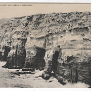 La Jolla Caves San Diego CA California Vintage Postcard
