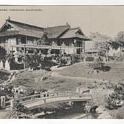 Tea Garden Coronado CA California Vintage Postcard