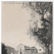 San Diego Mission Founded 1769 CA California Vintage Postcard