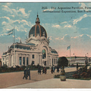 Argentine Pavilion Panama-Pacific International Exposition San Francisco CA California 1915 ..