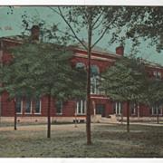 SOLD Central School Waycross GA Georgia Vintage Postcard