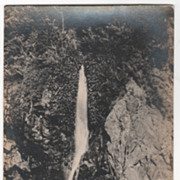 rppc ARTURA Water Spring Camp 4 Beguet Road KM 15 Philippines Vintage Postcard