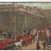 Tuck Oilette London England the Bank of England Vintage Postcard
