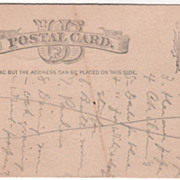 Penn State University Meeting Trustee Election 1882 Vintage U S Postcard