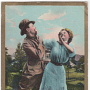 "Comic Courting ""The Army A Misfire"" L. R. Cornwell NY - 1909"