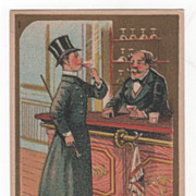 Great Atlantic & Pacific Tea Co 35 & 37 Vesey St NYC NY Victorian Trade Card