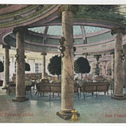 Laurel Court Fairmont Hotel San Francisco CA California Vintage Postcard