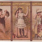 Cowperthwaits' Home Furnisher & Interior Decorators NYC NY Victorian Trade Card