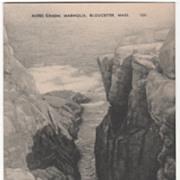 Rafes Chasm Magnolia Gloucester MA Massachusetts Vintage Postcard