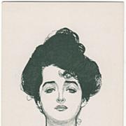 "Artist Signed Charles Dana Gibson Glamour Lady No 14069 ""Eleanor""  Vintage Postcard"