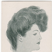 """Artist Signed Charles Dana Gibson No 14701 Glamour Lady """"Molly"""" Vintage Postcard"""