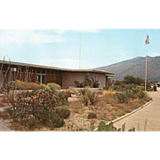 Visitors Center Saguaro National Monument Tucson AZ Arizona Vintage Postcard