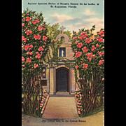 Shrine of Nuestra Senora De La Leche St Augustine FL Florida Vintage Postcard