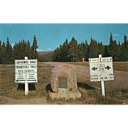 SOLD Tennessee Pass U S 24 North of Leadville CO Colorado Vintage Postcard