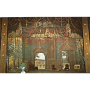 SOLD Stage Tabor Opera House Leadville CO Colorado Vintage Postcard