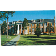 Thaw Hall Maryville College Maryville TN Tennessee Vintage Postcard
