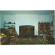 The Kitchen at The Hermitage Nashville TN Tennessee Vintage Postcard