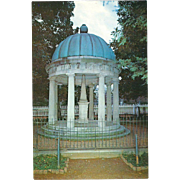 The Tomb at The Hermitage Nashville TN Tennessee Vintage Postcard