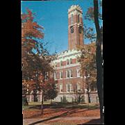 Kirkland Hall Vanderbilt University Nashville TN Tennessee Vintage Postcard