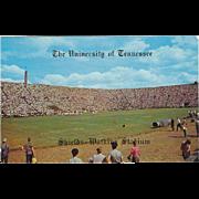 Shields-Watkins Stadium U of T Knoxville TN Tennessee Vintage Postcard