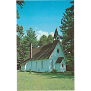 Christ Church Episcopal Rugby TN Tennessee Vintage Postcard