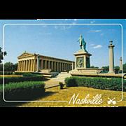 The Parthenon Nashville TN Tennessee Vintage Postcard