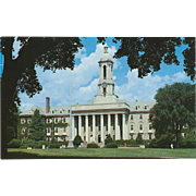 Old Main Penn State University State College PA Pennsylvania Vintage Postcard
