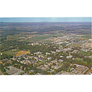 Aerial View of Campus PSU State College PA Pennsylvania Vintage Postcard