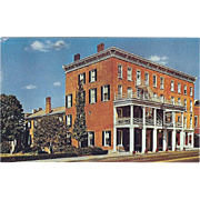 Golden Lamb Inn Established 1803 Lebanon OH Ohio Vintage Postcard