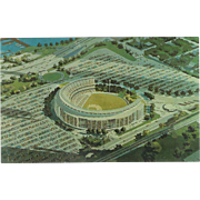Wm A Shea Stadium Flushing Meadow Park Queens NY New York Vintage Postcard
