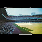 Yankee Stadium New York City NY New York Vintage Postcard