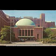 Hayden Planetarium New York City NY New York Vintage Postcard
