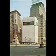 Gallery of Modern Art New York City NY New York Vintage Postcard