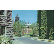 Crouse College Maxwell Citizenship School Syracuse NY New York Vintage Postcard