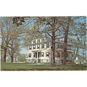 Granger Homestead Canandaigua NY New York Vintage Postcard