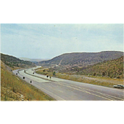 New Mexico Hyway Elevation 6666 Ft Entering Raton NM New Mexico Vintage Postcard
