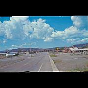 The Y of U S. Highways 85-87-64 Raton NM New Mexico Vintage Postcard