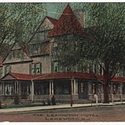 The Lexington Hotel Lakewood New Jersey NJ Postcard