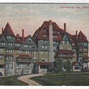 Kennilworth Inn Asheville NC North Carolina Vintage Postcard
