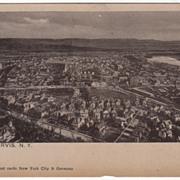 Port Jervis NY New York Vintage Postcard