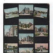 Ten Scenes of Buffalo New York Postcard