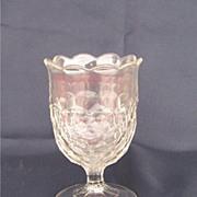 EAPG Early American Pattern Glass Honeycomb Spooner