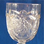 EAPG Early American Pattern Glass Togo Goblet