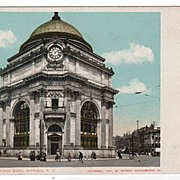 DPC Buffalo Savings Bank Buffalo NY New York Postcard