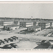 Engineer Replacement Training Center - Looking North - Fort Belvoir VA Virginia Postcard