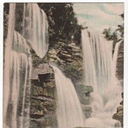 Haines Falls Catskill Mountains New York NY Postcard