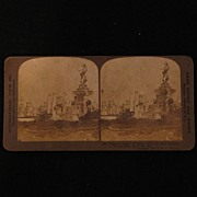 Stereo Card: Palace of Mines St. Louis 1904 World's Fair