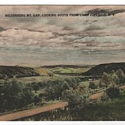 Helderberg Mt Gap Camp Pinnacle New York NY Postcard